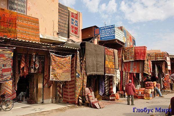 Марокканский колорит: Базар восточных ковров