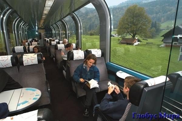 Поезд Golden Pass