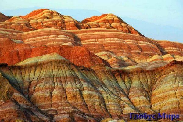Цветные горы Дэнксия