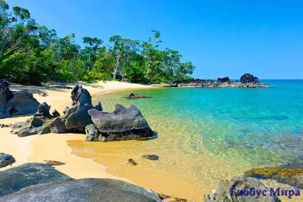 Уединенные дикие пляжи