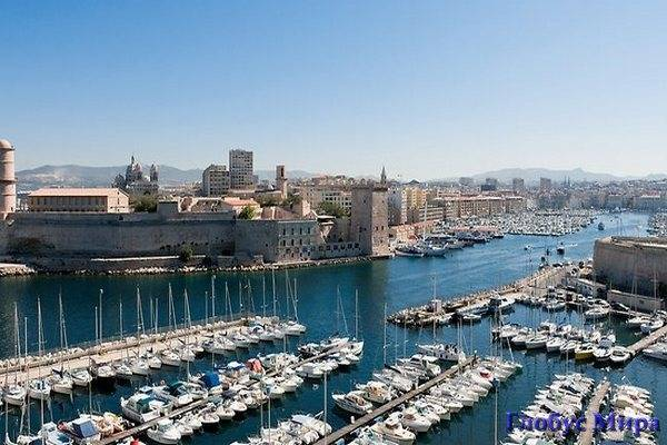 Портовый город Марсель
