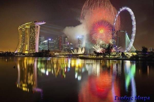Буйство красок ночного города