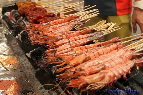 Уличная еда сингапурцев