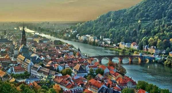 Земля Баден-Вюртемберг в Германии