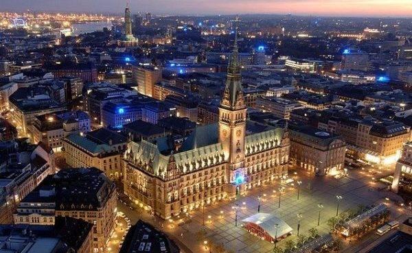 Гамбург в Германии