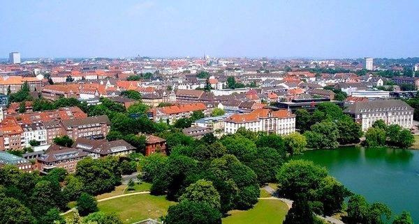 Земля Нижняя Саксония в Германии