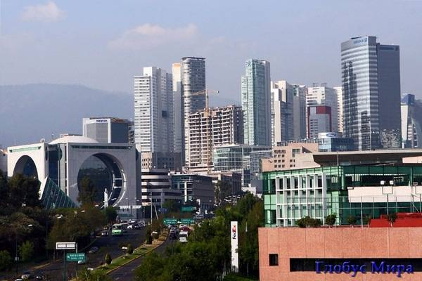 Мехико – крупнейший мегаполис