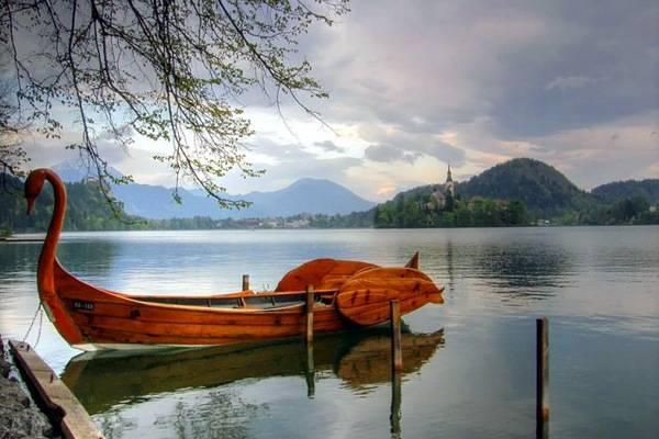 Озеро Блед - достопримечательности Словении