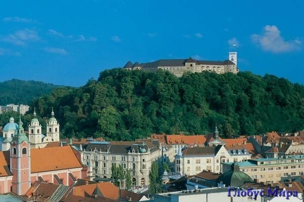 Люблянский замок, Словения