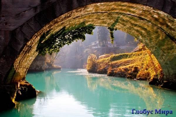 Река Сока в Словении