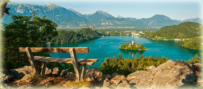 Озеро Блед в Словении