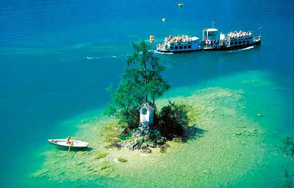 Озеро Вольфгангзее близ Вены