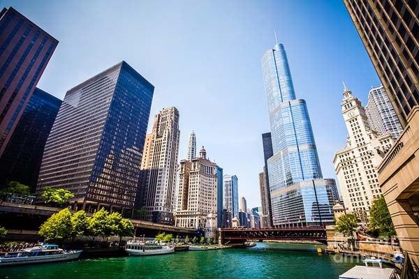 Чикагские небоскребы