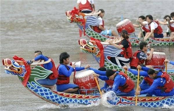 Соревнования лодок-драконов