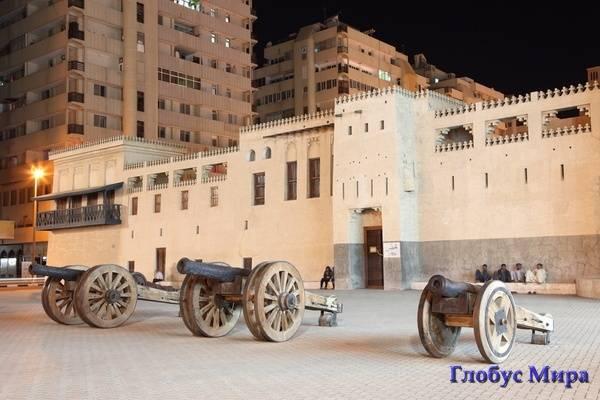 Пушки форта Аль-Хисн