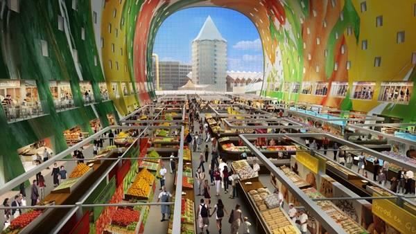Городской крытый рынок