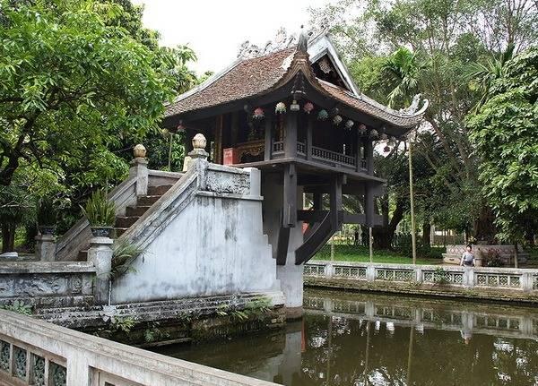 Пагода в Храме литературы