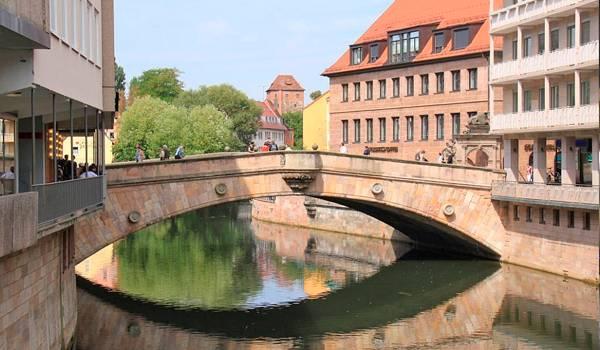 Мост мясников в Нюрнберге
