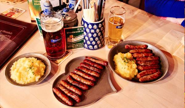 Традиционные нюрнбергские колбаски