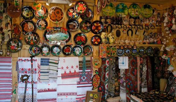 Лавка сувениров в Киеве