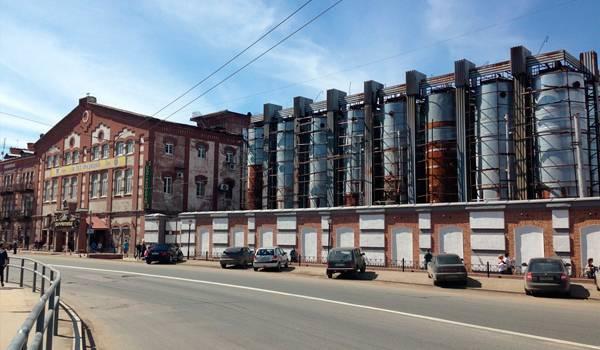 Жигулевская пивоварня – достаточно заметное здание