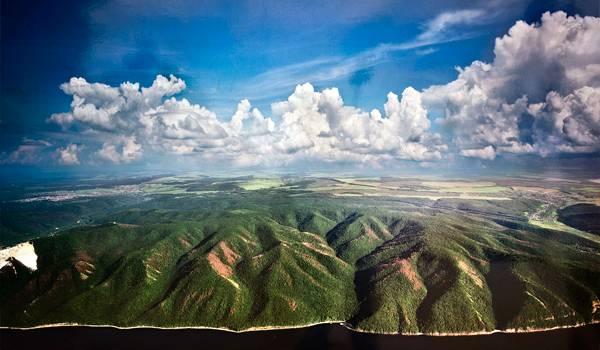 Жигулевские горы очень красивы