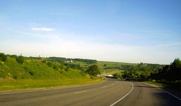 По дороге в Мишенское