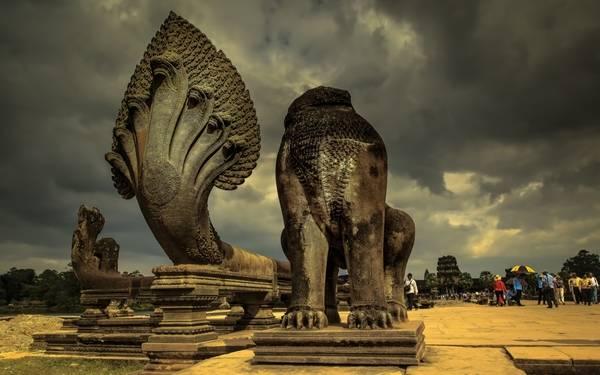 Таинственный храм Ангкор-Ват