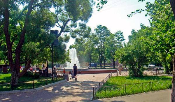 Андреевский парк – идеальное место для отдыха