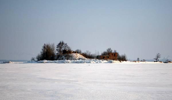 Ныне разрушенный форт Южный №1