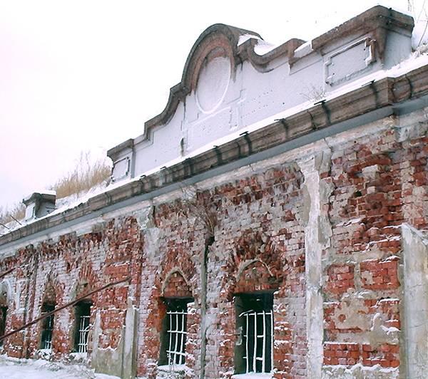 Казармы второго Южного форта Дзичканец