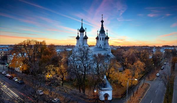 Невероятно красивый Крепостной собор Кронштадта