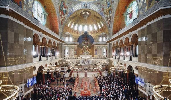 Вид со второго этажа Морского собора
