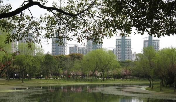 Центральный парк Шанхая