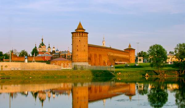 Коломенский Кремль очень красив