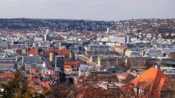 Вид на современную часть города