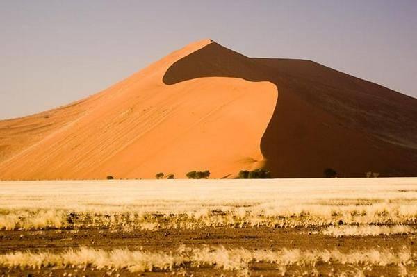 Плато Соссусфлей в пустине Намиб