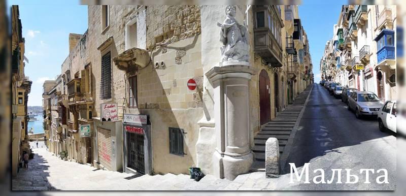 Узкие улочки старинного города