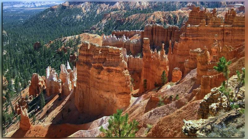 Скальные шпили – худу в национальном парке (США)