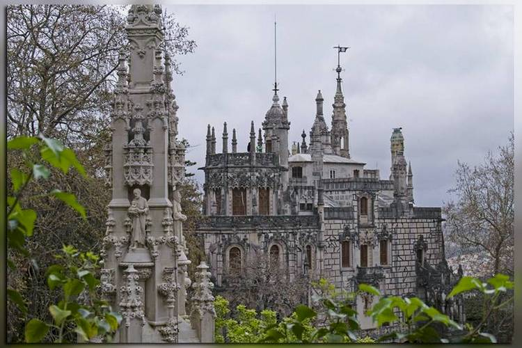 Элементы архитектуры Кинта Регалейра, Португалия, Синтра