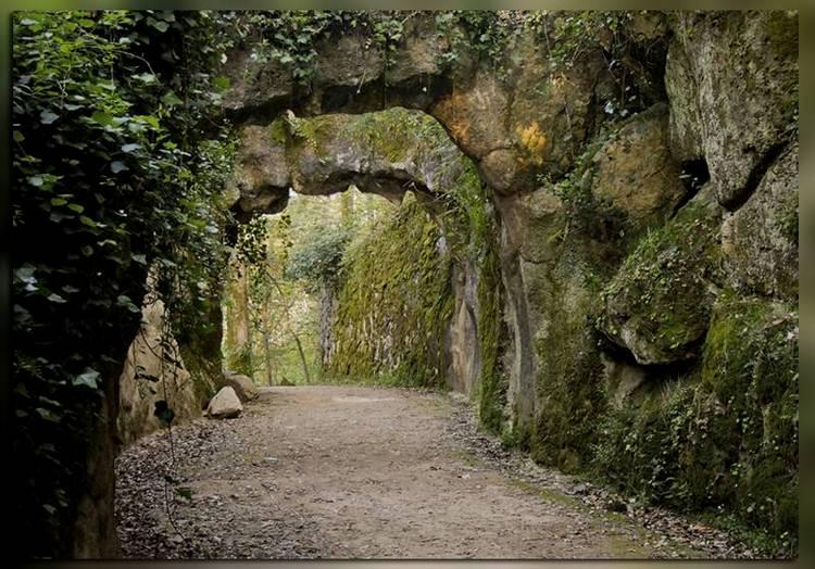 Подземная галерея Кинта Регалейра