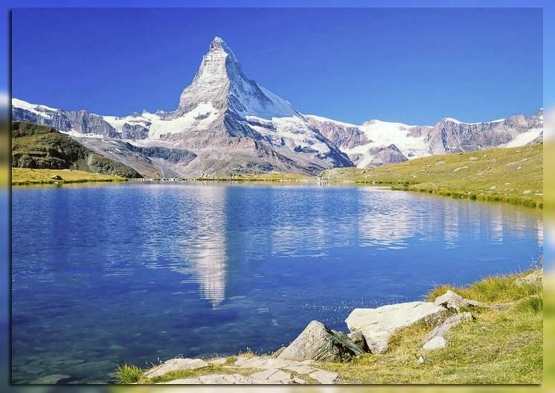 Озеро в долине