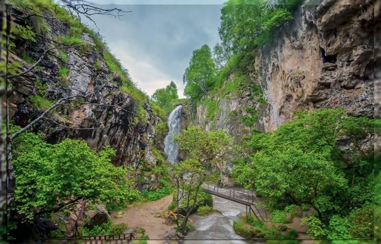Окрестности водопадов