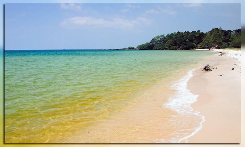 Пляж Otres в Камбодже