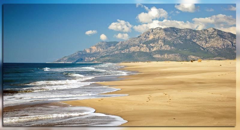 Пляж Patara beach в Турции