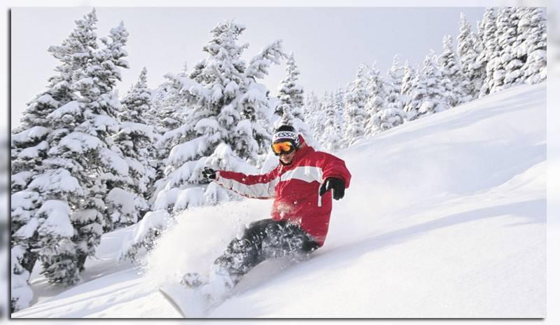 Сноубордисты в Руке