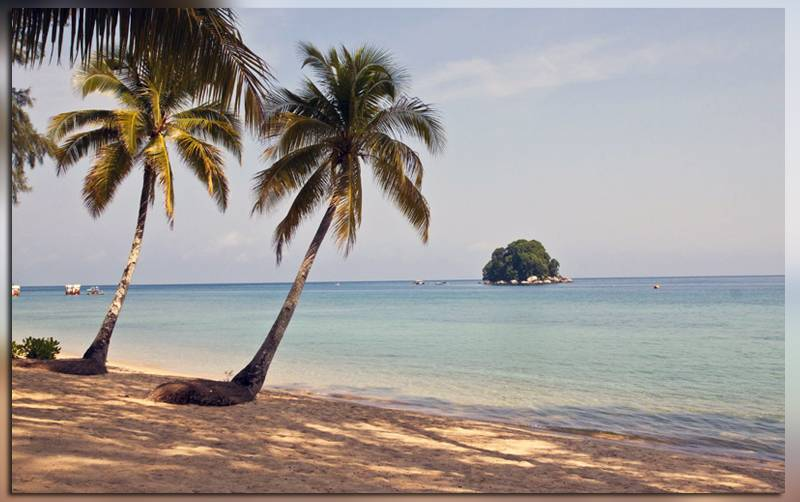 Остров Тиоман в Индонезии