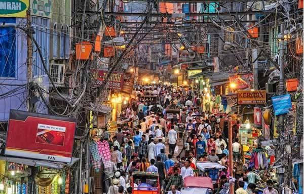 Дели входит в золотой треугольник Индии