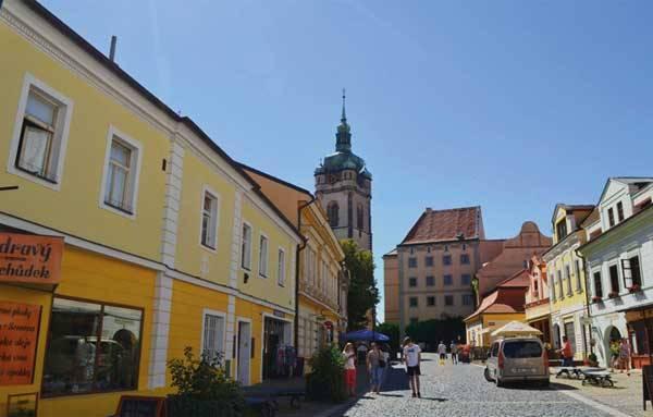 Мельник, Чехия: улица города