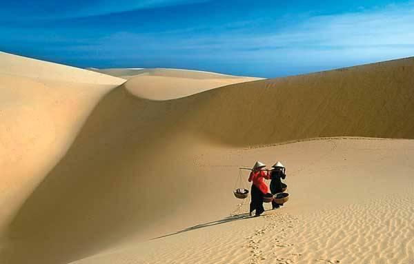 Белые дюны во Вьетнаме, Фантьет